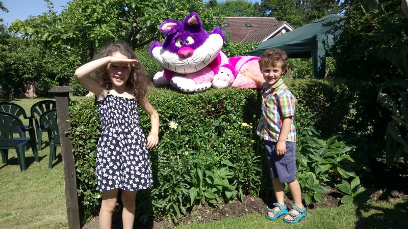 Cheshire Cat - Music in the Garden 2017 - Freda's Garden