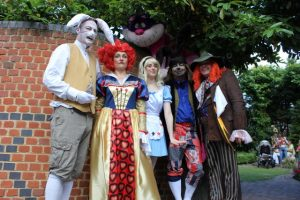 Freda's Garden - Mad Hatter's Tea Party