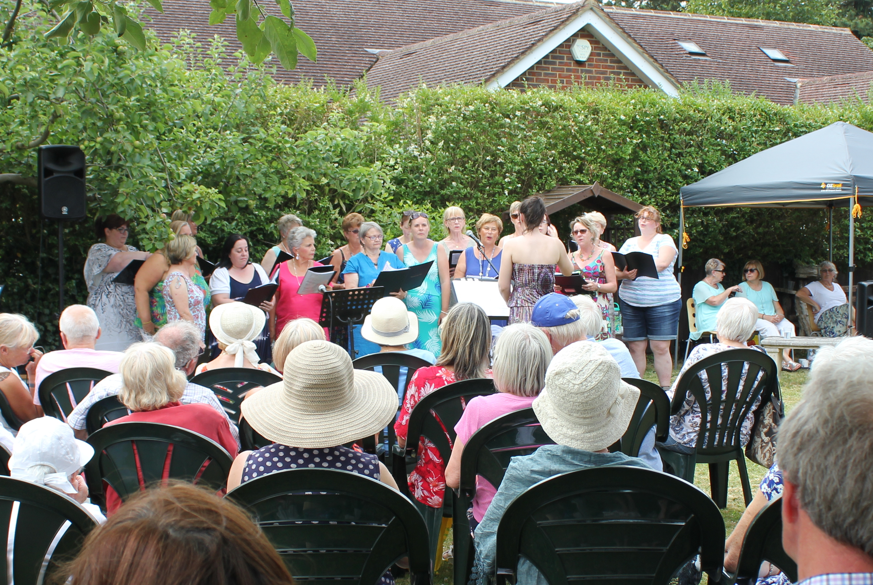 Westerham Local Vocals - Music In The Garden 2018