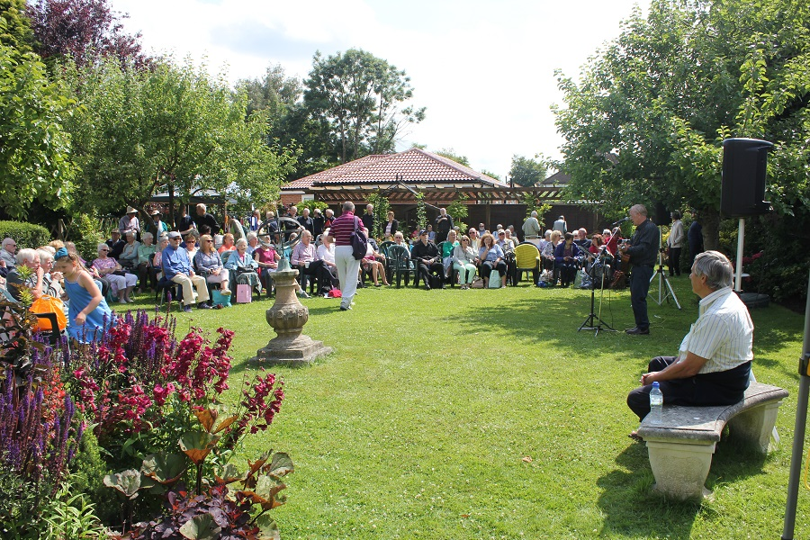 Music in the Garden, Freda's Garden
