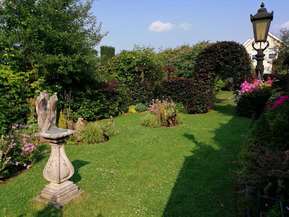 Middle area of Freda's Garden