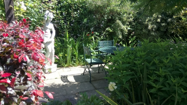 Freda's Garden - tranquil spot