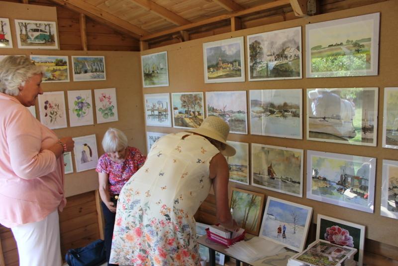 Art Exhibition - Music in the Garden 2017 - Freda's Garden