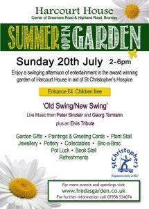 Freda's Garden - Summer Opening 2014