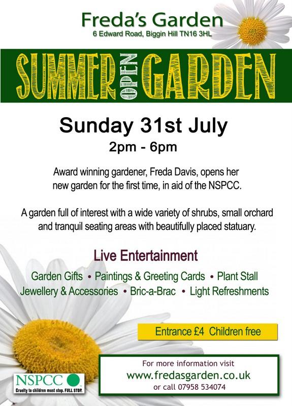Freda's Garden - Summer Opening 2016