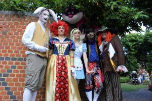 Freda's Garden - Mad Hatter's Tea Party