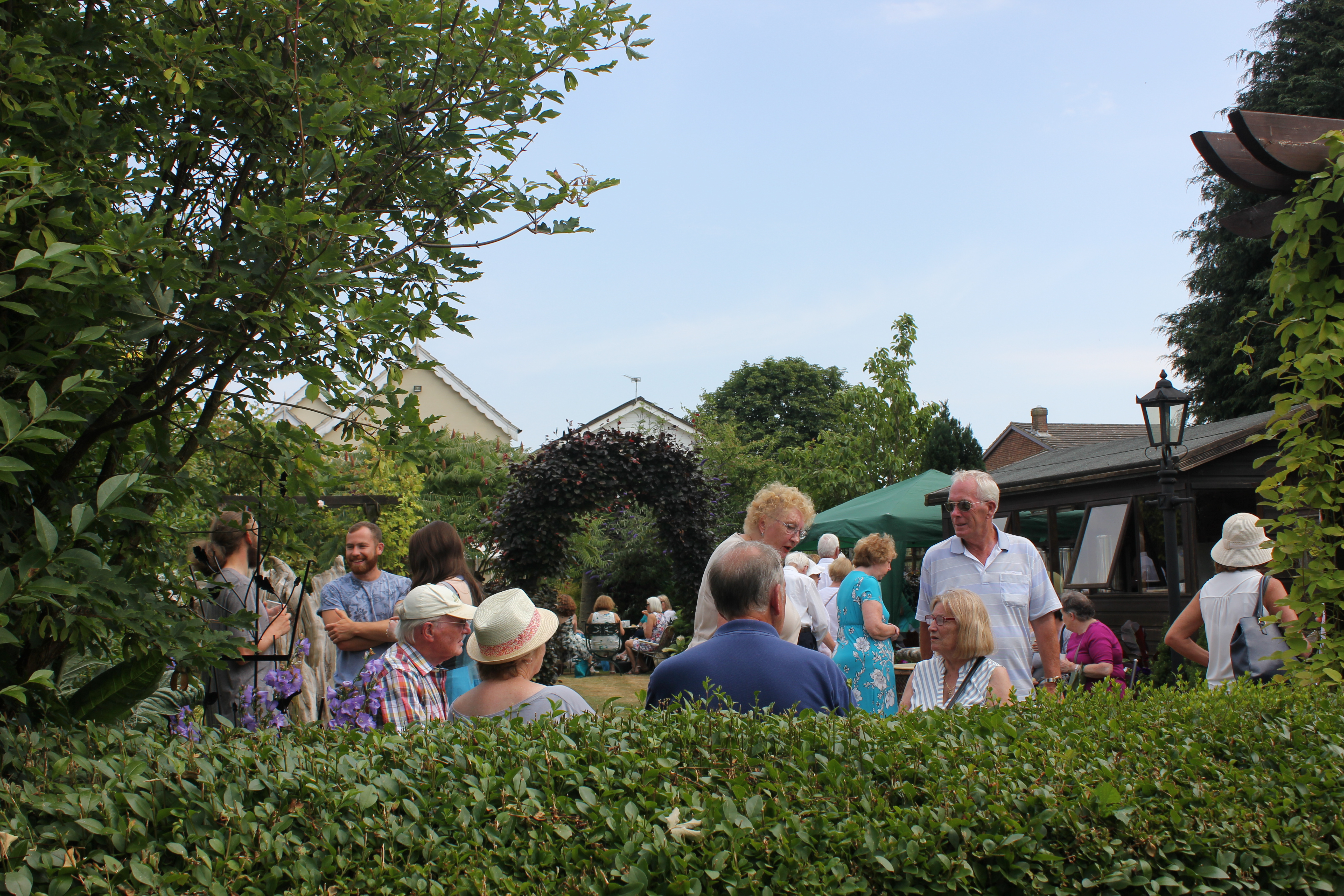 Visitors to Music In The Garden